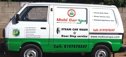 car wash door step car upholstery cleaning services anti bacterial steam treatment sofa. Black Bedroom Furniture Sets. Home Design Ideas
